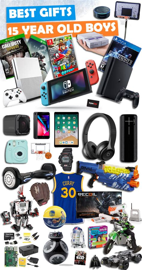 good christmas gifts for 14 year old boys gifts for 15 year boys buzz