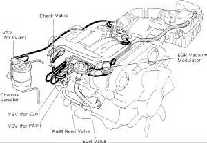 similiar 1995 toyota 4runner engine diagram keywords 1994 toyota pickup vacuum hose diagram in addition 1996 toyota 4runner