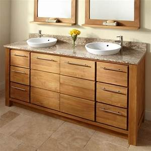 Waschtischunterschrank Für Aufsatzwaschbecken Holz : waschbecken mit unterschrank holz ~ Bigdaddyawards.com Haus und Dekorationen