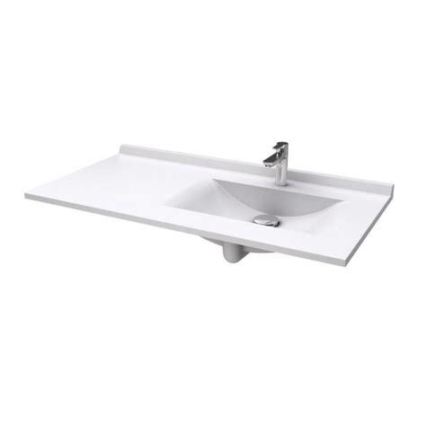 plan resiplan avec vasque d 233 port 233 e droite en marbre de