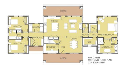 house plans 2 master suites single modern ranch house plans house plans with 2 master
