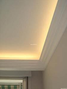Corniche Plafond Platre : la corniche d corative pour vos plafonds lumineux type ~ Edinachiropracticcenter.com Idées de Décoration