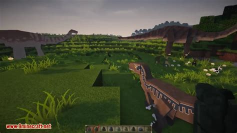 jurassicraft mod  jurassic park dinosaurs