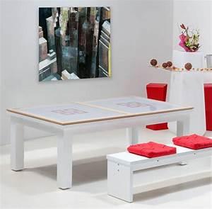une table de billard convertible design pour surprendre With table de billard moderne