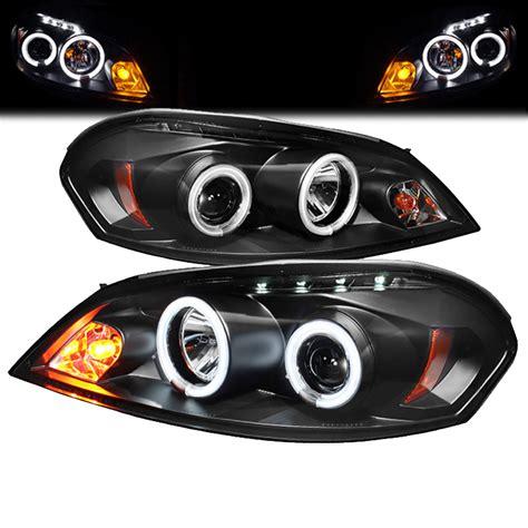 062015 Chevy Impala Dual Angel Eye Halo & Led Projector