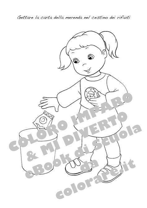 disegni da colorare sulle regole da rispettare  classe