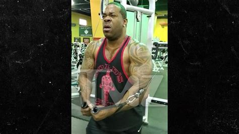 busta rhymes  heavy weight training  shed weight