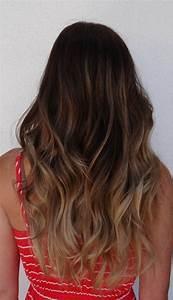 Ombré Hair Chatain : balayage ombre chatain ~ Dallasstarsshop.com Idées de Décoration