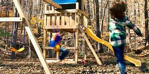 15 DIY Swing Set-Build A Backyard Play Area For Your Kids