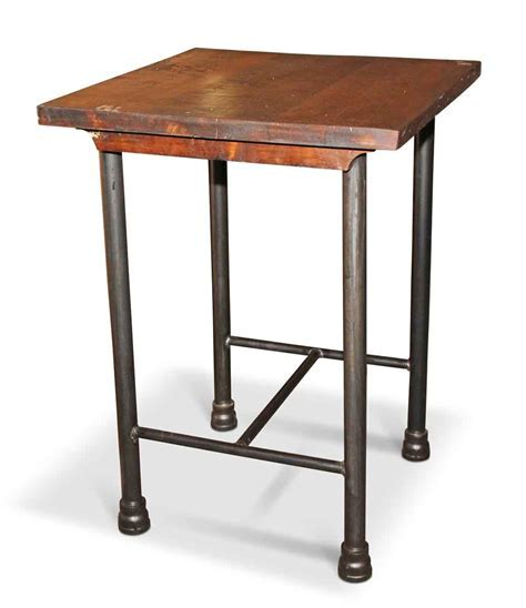 Square Kitchen Island or Tall Side Table   Olde Good Things