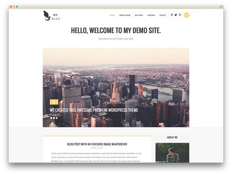 30 Best Blog Wordpress Themes For Corporate, Personal