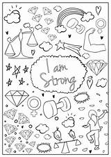 Coloring Hopscotch Brave Colouring sketch template