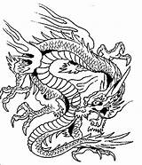 Dragon Coloring Chinese Terrifying Printable Awesome Drawing Lanterns Netart Adults Getcolorings Drawings sketch template