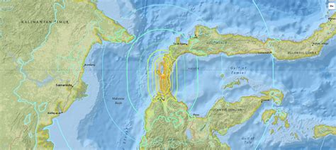 sulawesi island indonesia earthquake  tsunami
