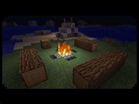 minecraft     decorative tent  campfire youtube