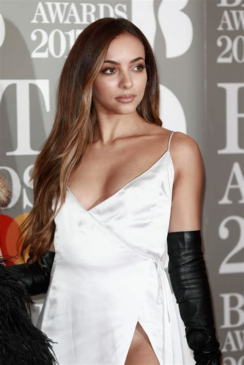 Jade Thirlwall Long Center Part   Newest Looks   StyleBistro