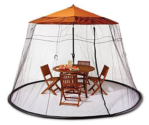 Mosquito Netting For Patio Umbrella Black by Umbrella Mosquito Net Canopy Patio Set Screen House Black