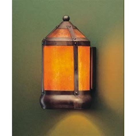 Mica L Company Sconce by 130f Lantern Flush Wall Sconce Coppersmith Collection