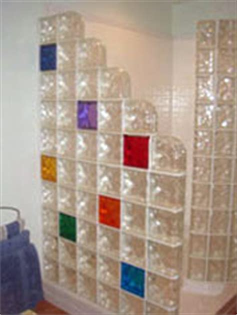 glass block wall  bar projects nationwide supply