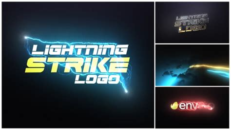 after effects templates free shared videohive lightning strike logo free after effects