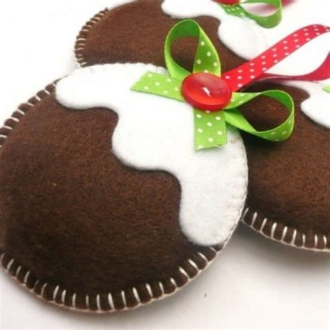 vintage frosted gingerbread embroidered felt cookie christmas ornaments 31 cutest christmas felt ornaments comfydwelling com