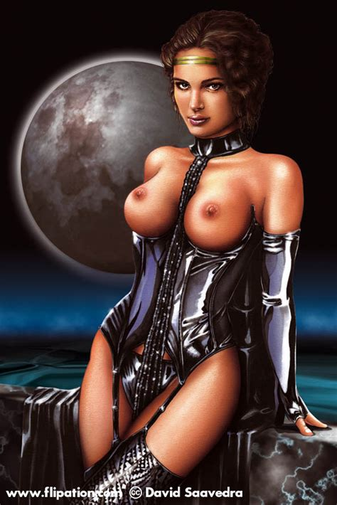 Rule 34 Areola Attack Of The Clones Breasts Corset David
