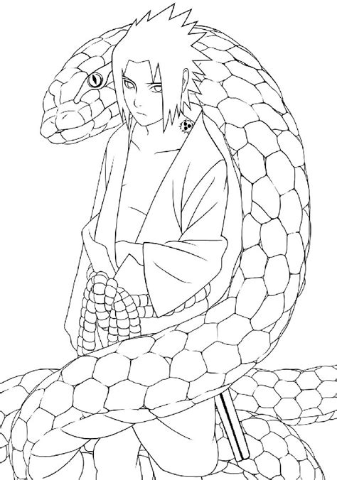 anime sasuke coloring pages  cool hd wallpapers