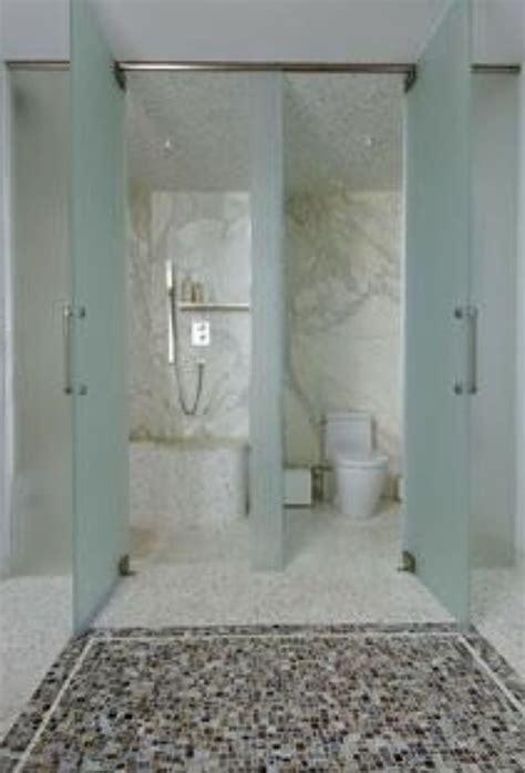 jack  jill bathroom separate toilet  shower glass