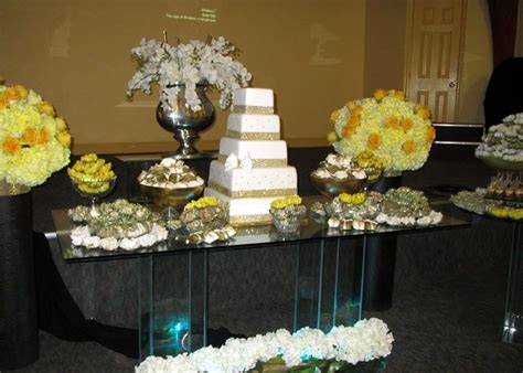 50th anniversary centerpieces 50 years of marriage gold