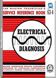 Chrysler Reference Booklet Electrical Diagnosis