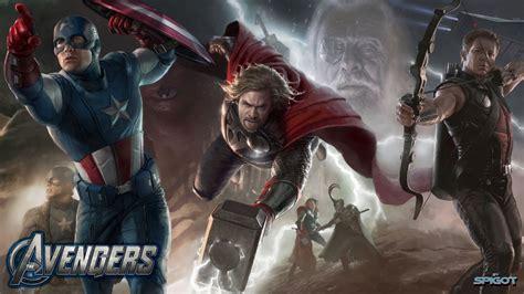 Avengers Poster Wallpaper 866415