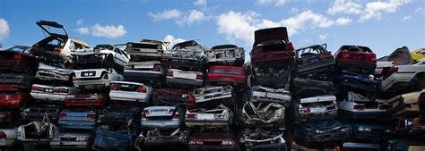Car Dump Yard by Wrecking Junk Cars Vehicle Disposal Or Dump Eco Friendly