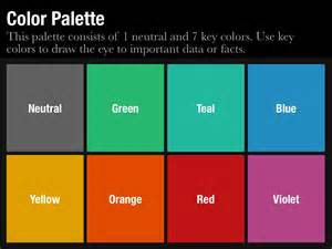 PowerPoint Color Palette
