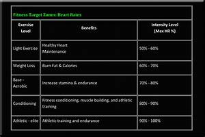 Maximum Heart Rate Exercise Chart Fitness