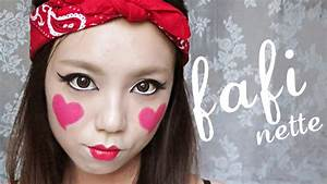 Easy Halloween Makeup Tutorial: Cute Seductive Doll - YouTube