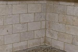 The mitten wife hooray we have a backsplash for Tile backsplash without grout