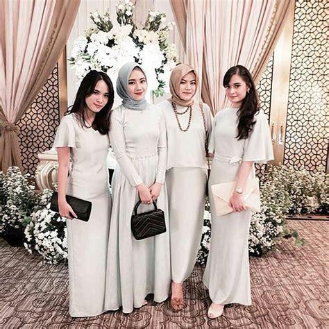 pin  annisa yuwono  hijab wedding elegant dresses
