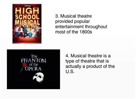 important musical theatre facts screen   flowvella  software  mac