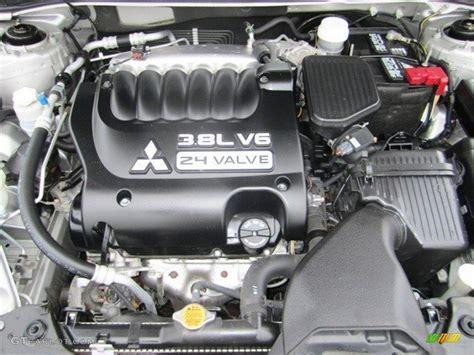 2009 Mitsubishi Galant Sport V6 3.8 Liter Sohc 24-valve