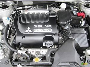 2009 Mitsubishi Galant Sport V6 3 8 Liter Sohc 24