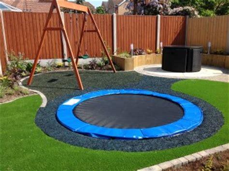 cool garden stuff uk safe and cool a sunken troline for kids home design garden architecture blog magazine