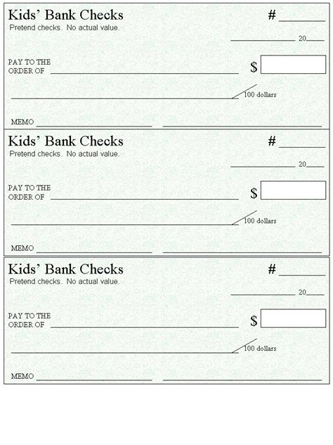 free printable checks template microsoft big check template autos post