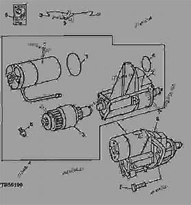 Starting Motor - Combine John Deere 9400 - Combine
