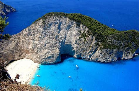 Navagio Beach Zakynthos Greece Amazing Places