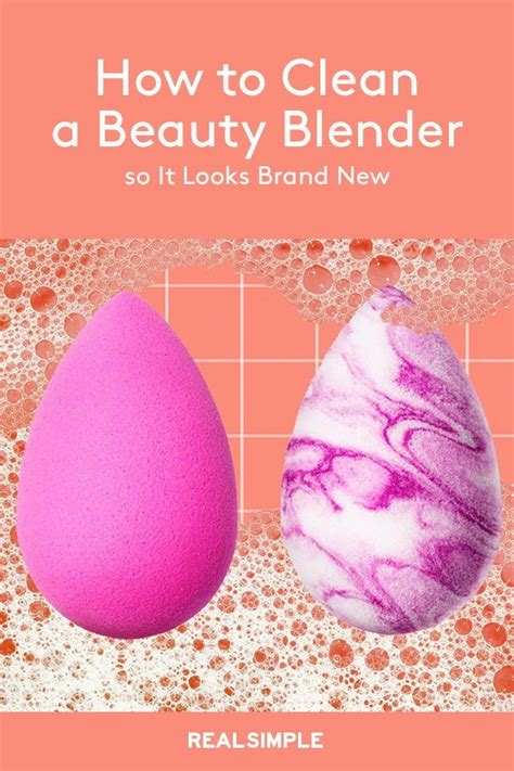 clean  beauty blender  time
