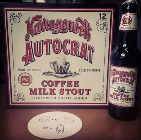 The company's coffee syrups are often used to make coffee milk, which was made the official state drink of rhode island in 1993. Got Beer? Autocrat Coffee Milk Stout — So Deliciously Rhode Island › Providence, Rhode Island ...