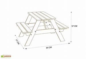Table Picnic Bois Pas Cher : table picnic enfant bois verte amca ~ Melissatoandfro.com Idées de Décoration