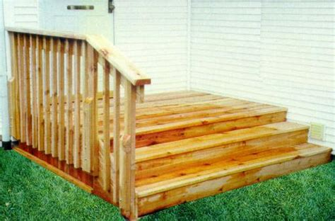 menards deck builder wide step deck building plans only at menards 174