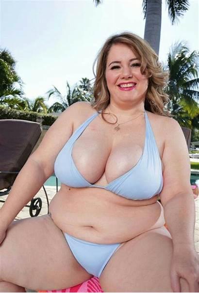 Xl Bbw Chubby Curvy Swimsuit Bikini Ssbbw
