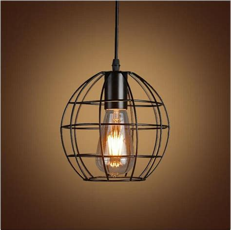 country style hanging light fixtures vintage iron pendant light industrial lighting nordic